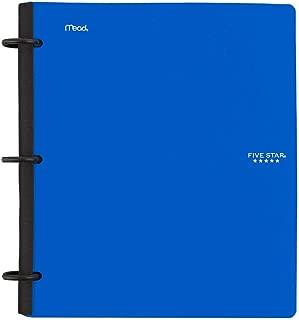 Five Star Flex Hybrid Notebinder, 1-1/2 Inch Binder, Notebook and Binder All-in-One, Blue (72405)
