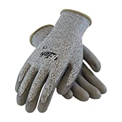Seamless construction offers increased comfort and breathability High Performance Polyethylene Fiber (HPPE) shell is lightweight and provides excellent dexterity, tactile sensitivity and cut resistance Knit Wrist helps prevent dirt and debris from en...