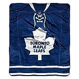 NORTHWEST NHL Toronto Maple Leafs Raschel Throw Blanket, 50' x 60', Jersey Legacy