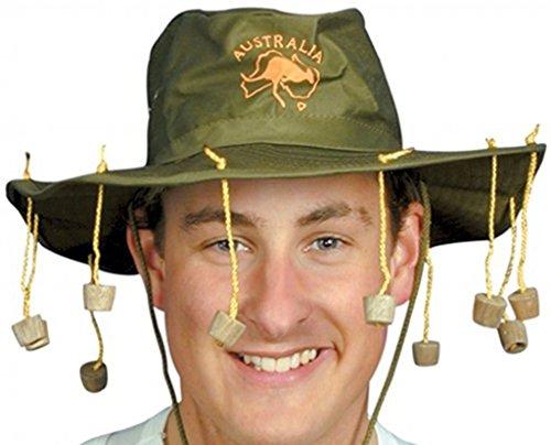 Australische hoed met kurk.