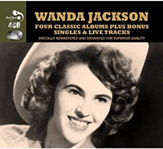 Four Classic Albums [Audio CD] Wanda Jackson by Wanda Jackson (2012-09-13)