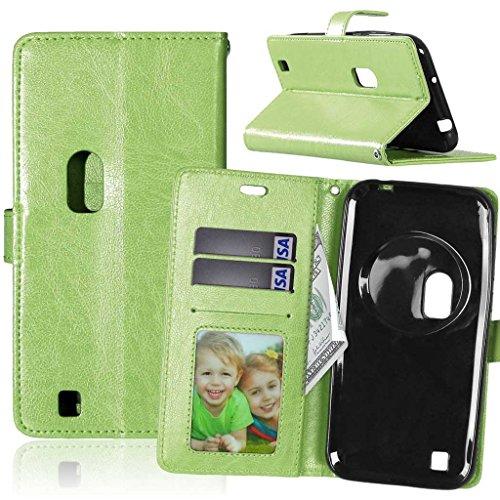 FUBAODA Zenfone Zoom ZX551ML Hülle, Flip Leder Money Karte Slot Brieftasche, Klassiker, Ständer, Handyhülle Ledertasche Phone Tasche Hülle für Asus Zenfone Zoom ZX551ML (5.5