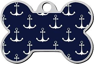 Custom Nautical Anchor Pet Identity