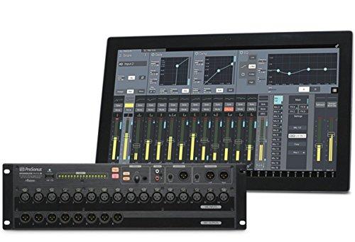PRESONUS StudioLive rm16ai 16Kanäle 20–40000Hz Schwarz–Tische Mischpult Audio (16Kanäle, 32Bit, 20–40000Hz, 94dB, 118dB (a-wtd, 48kHz),-90dB)