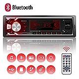 Autoradio Bluetooth Main Libre, 2 Ports USB Poste Stéréo Radio, 1 Din Radio...