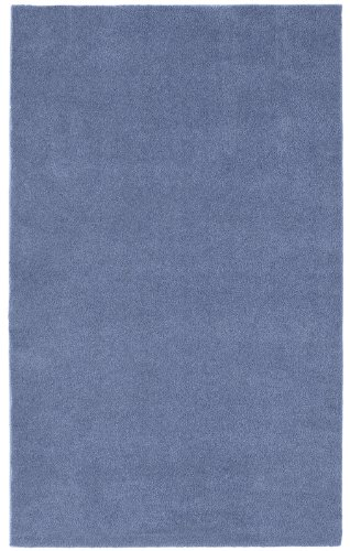 Garland Rug Room Size Bathroom Carpet, 5-Feet by 6-Feet, Basin Blue