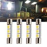 T10 bombillas halógenas w5w 194 168 501, lámpara halógena, bombilla CC, 12 V, 5 W, amarillo, para luz de aparcamiento lateral de coche