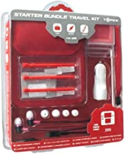Tomee Starter Bundle Accessory Kit with Case and Stylus Pens for Nintendo 2DS (Red)