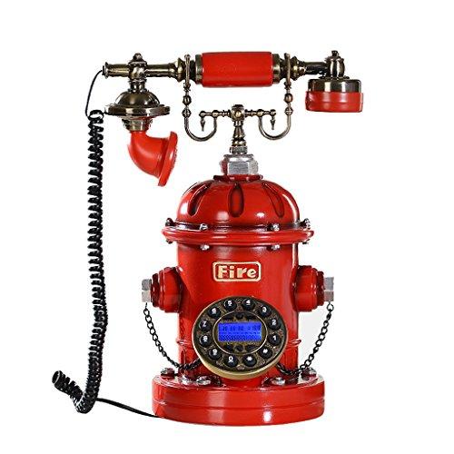 LXYFMS - Teléfono de teléfono con Pantalla giratoria, diseño Retro