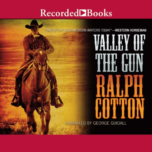 Valley of the Gun audiobook cover art
