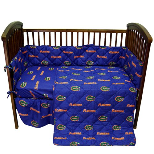 College Covers NCAA Crib Set, 28' x 52' + 6', Florida Gators