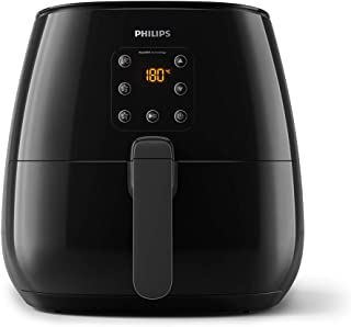 Philips Essential Air Fryer XL 1.2 KG Capacity with Rapid Air Technology for Healthy Cooking, 90 Percent Less Oil, 1900 W,...