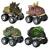 SOKY Geschenke für Jungen ab 3-8, Dinosaurier ziehen Autos zurück Spielzeug für Jungen ab 3-8 Jahre Geschenke für Kinder Spielzeug für Jungen ab 3-8 Jahre Jungen Spielzeug Geschenke Autos Spiele