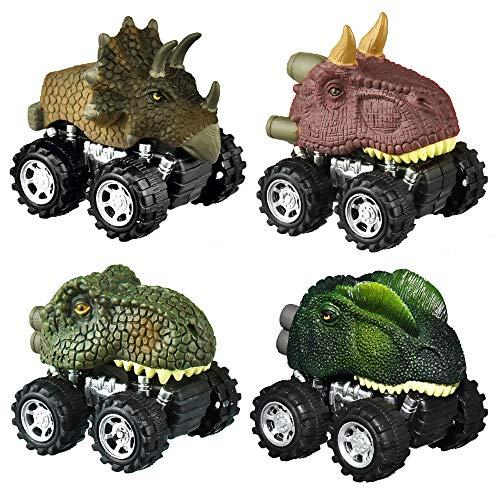 SOKY Juguetes Niños 2-9 Años, Dinosaurios Juguetes Regalos Niño 3-8 Años Juguetes 2 3 4 5 6 7 Años Niño Mejores Juguetes Niños 2-6 Años Camiones de Juguetes para Niños Dinosaurios Indominus Rex