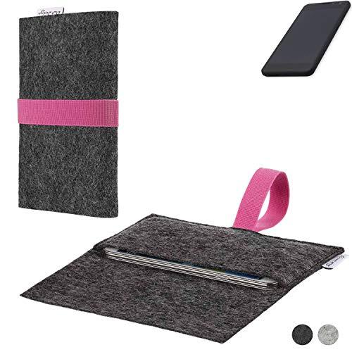 flat.design Handy Hülle Aveiro für Shift Shift5.3 passgenaue Filz Tasche Case Sleeve Made in Germany