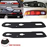 Taillight Gaskets Seals EPDM 1 Pair Compatible with Honda 1994 1995 1996 1997 1998 1999 2000 2001 Acura Integra GS (LEATHER), GS-R, GS-R (LEATHER), LS, RS, TYPE-R