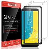 MASCHERI Protector de Pantalla para Samsung Galaxy J6 2018,...