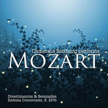Mozart: Divertimenti & Serenades - Sinfonia Concertante, K. 297b