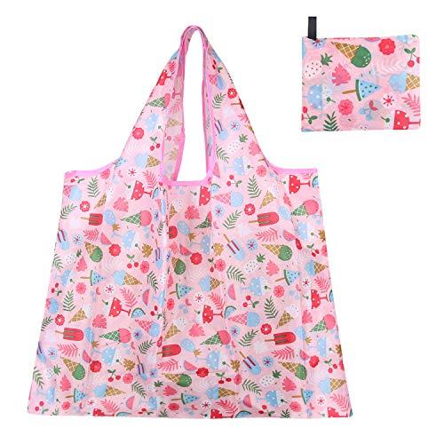 エコバッグ レジ袋 トートバッグ 買い物袋 折りたたみ 防水 使いやすい 大容量 丈夫 耐荷重25kg (Eco Bag L20)