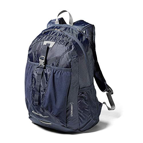 Eddie Bauer Unisex-Adult Stowaway Packable 30L Pack, Navy Regular ONESZE