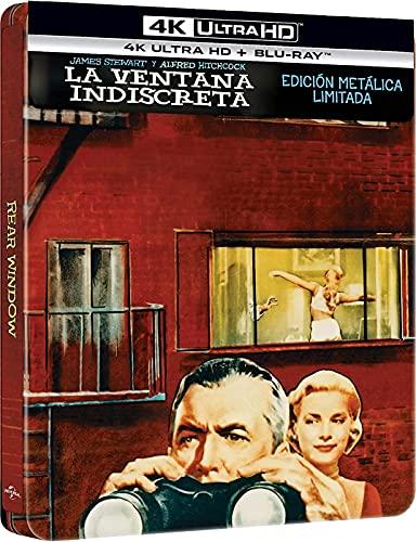 La ventana indiscreta (4k UHD + Blu-ray) (Ed. Especial Metálica) [Blu-ray]