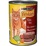 Friskies Alimento húmedo para Gato Adulto con Buey e Hígado en Paté, 400 g (12 o 24 Latas) (12 x 400 gr)