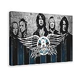 Rock Band Aerosmith Leinwand Poster Schlafzimmer Dekor