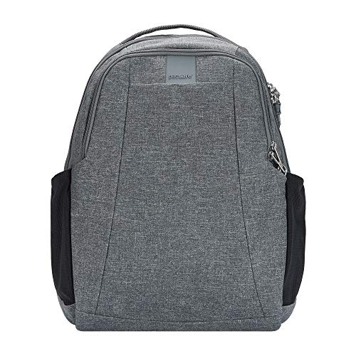 Pacsafe Metrosafe Ls350 Leisure Rucksack Anti-Theft 15 L Backpack, Dark Tweed 123 (Grey) -...