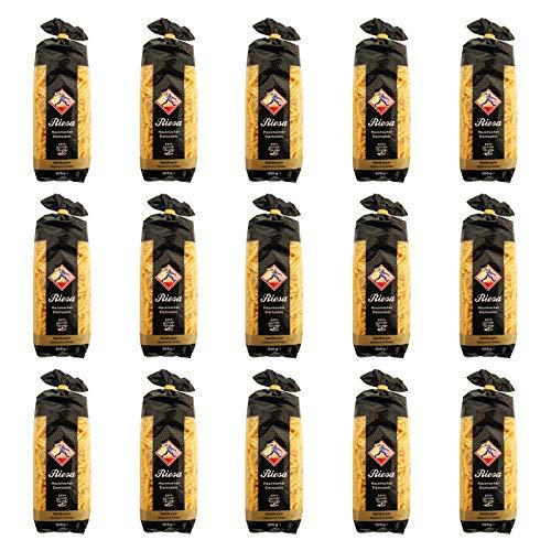 15er Pack Riesa Nudel Goldtraum Makkaroni Chips (15 x 500 g) Teigwaren, Riesa Nudeln, Pasta
