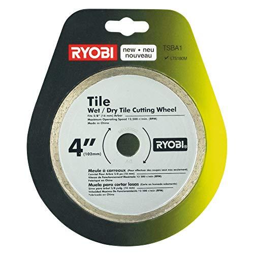 Ryobi TSBA1 4-inch Tile Saw Blade for LTS180M