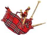 Cornamusa giocabile per bambini (Royal Stewart)