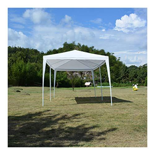Bassette Carpa de Jardín Cochera Gazebo Impermeable con protección UV 300 x 600 x 255 CM para Fiesta Eventos Bodas