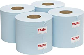 WypAll L10 Centrefeed Roll Wipers,  Blue,  790 Wipers/Roll,  Case of 4 Rolls