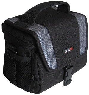 GEM N270188FFPS2950-4050 Caja compacta Gris Negro Estuche para cámara fotográfica - Funda (Caja compacta Fujifilm FinePix S2950 S2990 S3200 S3250 S4000 S4050 Gris Negro)