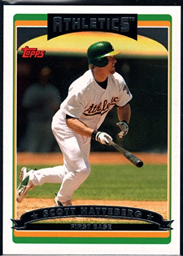 야구 MLB2006TOPPS 4SCOTT HATTEBERG ATHLETICS