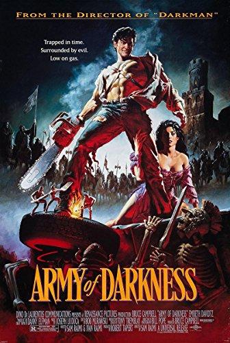 Close Up Army of Darkness Poster, Affiche Evil Dead 3 (68cm x 98cm) + Un Poster Surprise en Cadeau!