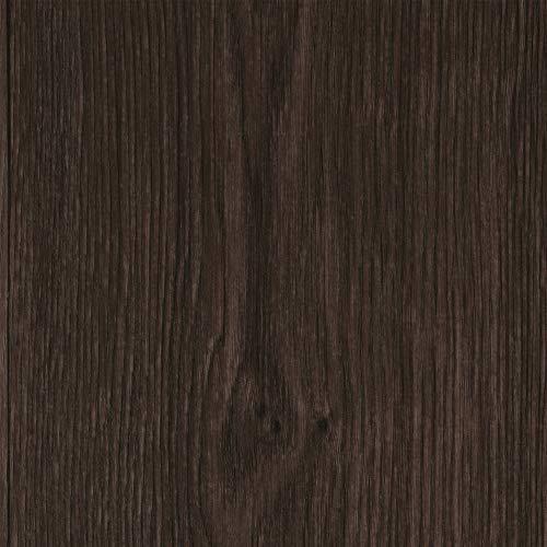 Vinylboden PVC Bodenbelag | Holzoptik Diele Eiche dunkel-braun grau | 200, 300 und 400 cm Breite | Meterware | Variante: 4,5 x 4m