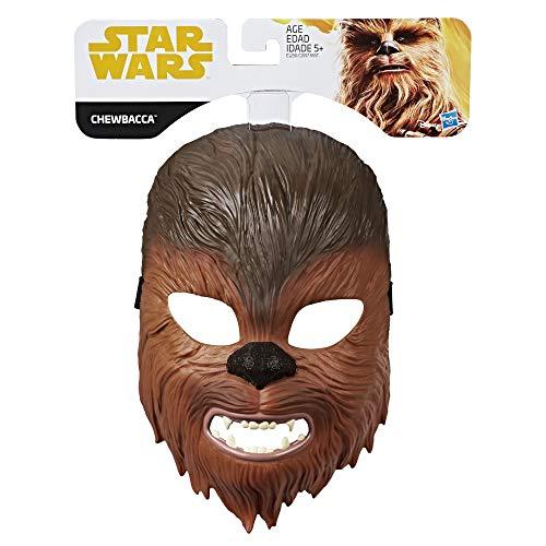 Hasbro-E1230ES0 Star Wars Máscara Chewbacca, Multicolor (