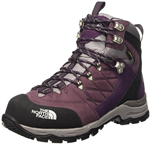 The North Face T0C556, Botas de Senderismo Mujer, Morado/Gris, 41 1/2