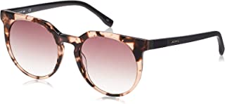 Lacoste Round Casual Elegance Havana/Rose Sunglasses For Women 54-20-140mm