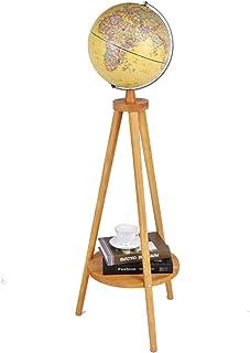 Lampadaire Antique Globes décorations Salon étude lumières décoratives Lampe sur Pied de Salon (Couleur : B)