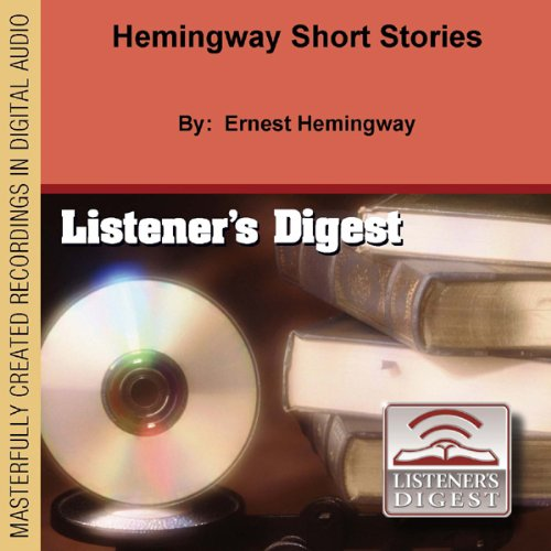 Hemingway Short Stories audiobook cover art