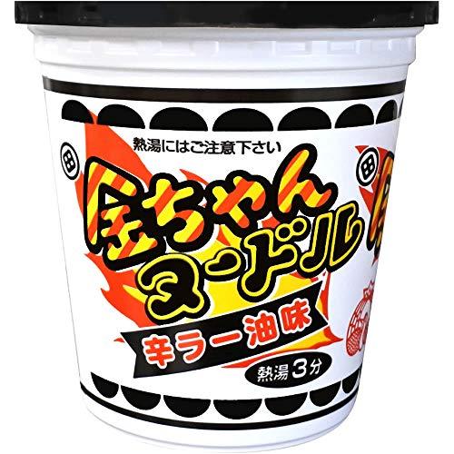 徳島製粉 金ちゃんヌードル辛ラー油味 81g ×12個