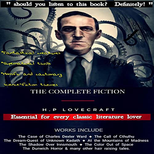 The Complete Fiction of H. P. Lovecraft cover art