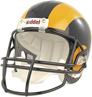Riddell NFL Los Angeles Rams Helmet Replica Full Size VSR4 Style 1981-1999 Throwback, One Size, Team Color