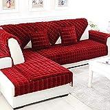 Ginsenget Sofá Cama algodón Repuesto Grueso Sofá Cama,o Esquina,o sofá desplegable (Varios tamaños),Sofá Antideslizante Sentado