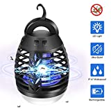 AMUFER Bug Zapper Camping Lantern 2 in 1 Electric Mosquito Killer Lamp Waterproof Mosquito Zapper Insect Fly...