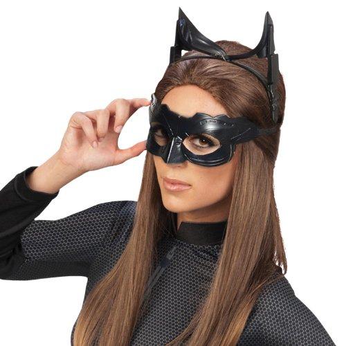 Struts Fancy Dress Womens Black Catwoman Lunettes