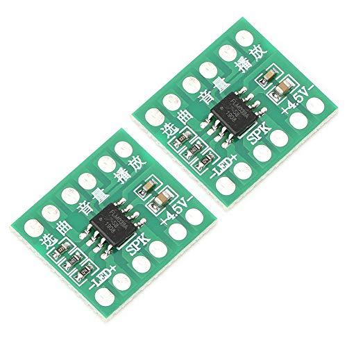 DIY-Module, 38 Songs, DREI Stufen der Lautstärkeregelung, DIY-Modul mit Musikchip, 0,5 W Musikspielzeug für Smart Doorbell Smart Lock