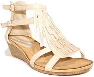 Y Zapatos esSandalias Flecos Chanclas Planas Amazon 2DIH9WE